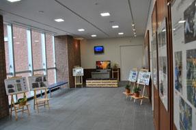 展示スペース(1階)